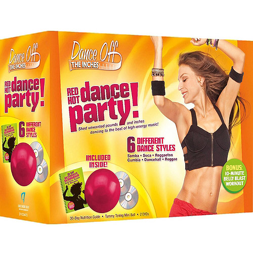 Dance Off The Inches: Red Hot Dance Party Kit (With Mini Ball)