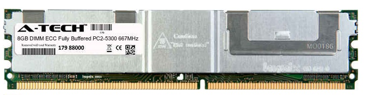 8GB Module PC2-5300 667MHz ECC Fully Buffered DDR2 DIMM Server 240-pin Memory Ram