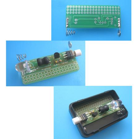 DIY FLA-1 Kit Simple Flashlight Module 1 5V LED Lamp