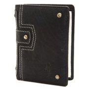 Religion Men's Leather Mugshot Wallet One Size Black