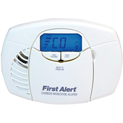 First Alert CO410 Battery Operated Carbon Monoxide Alarm with Backlit Digital Display