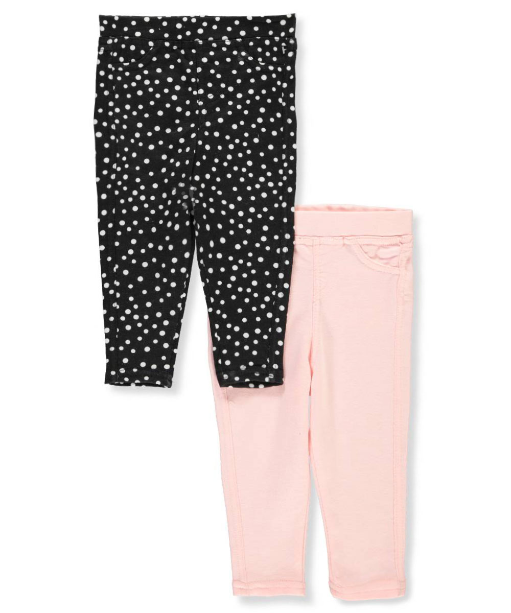 Baby Girls 2-Pack Jeggings