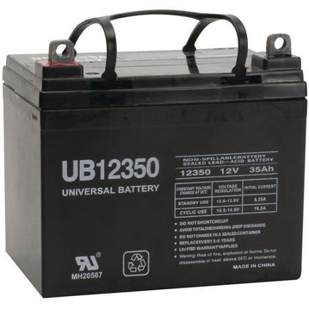 UB12350 12 Volt 35 AMP SLA/AGM Battery - Group Size U1 + FREE (2010 Dodge Ram 1500 Battery Group Size)