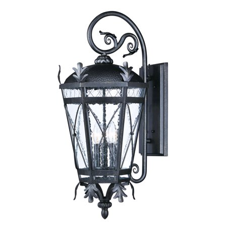 - Wall Sconces 3 Light Bulb Fixture With Artesian Bronze Finish Aluminum Material CA Bulbs 6 inch 180 Watts