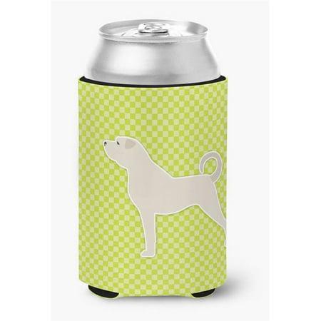Anatolian Shepherd Checkerboard Green Can or Bottle Hugger - image 1 de 1