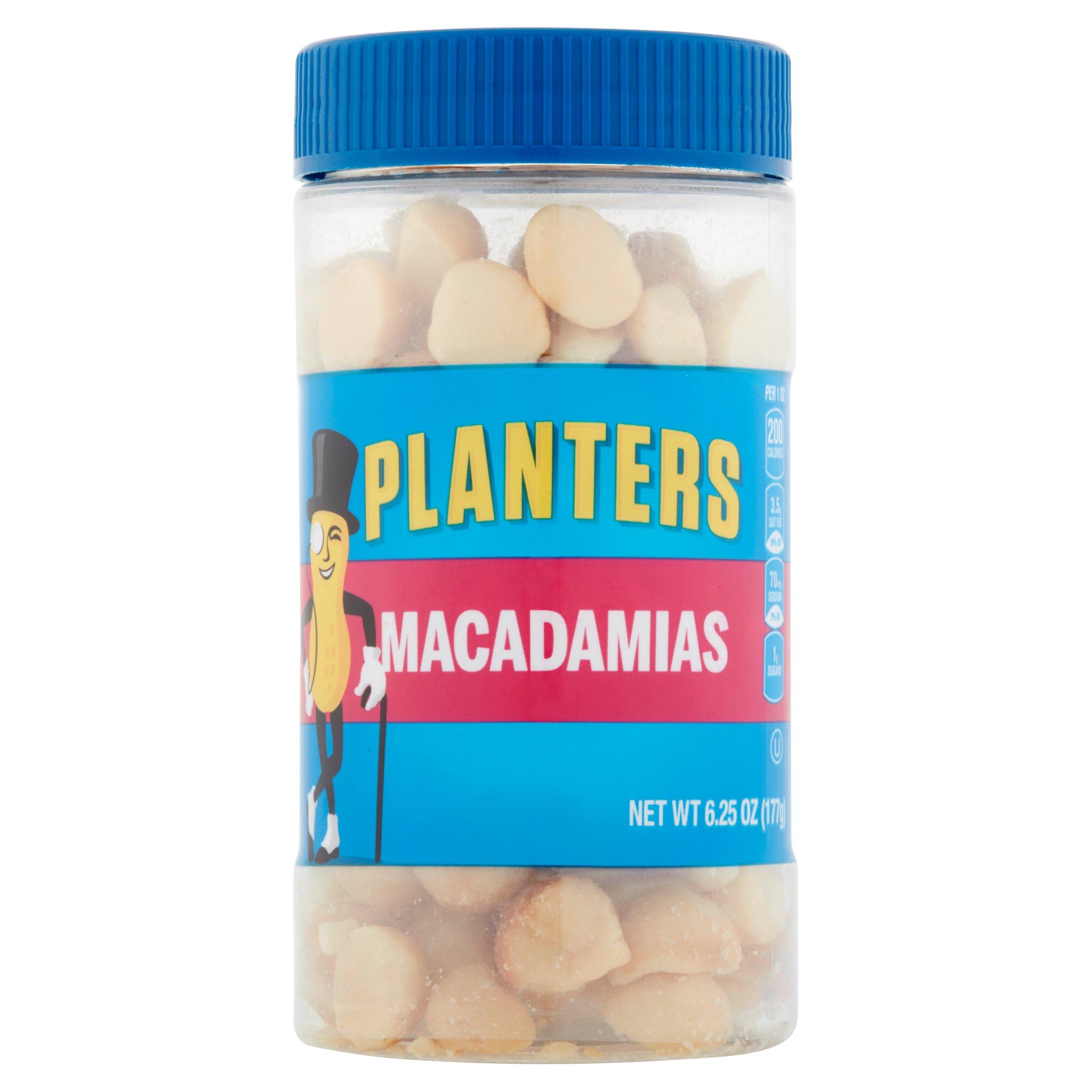 Planters Macadamias, 6.25 OZ (177g)