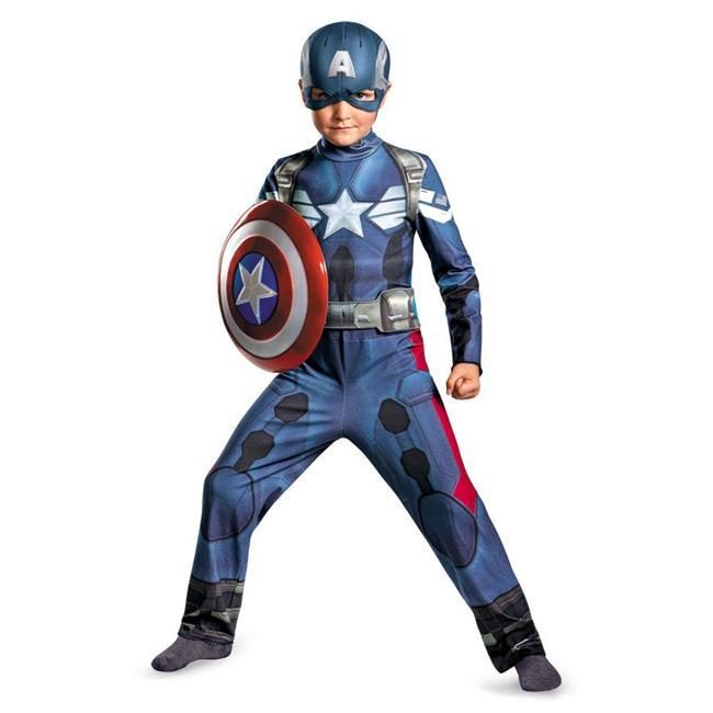 MorrisCostumes DG73362G Captain America Movie 10-12