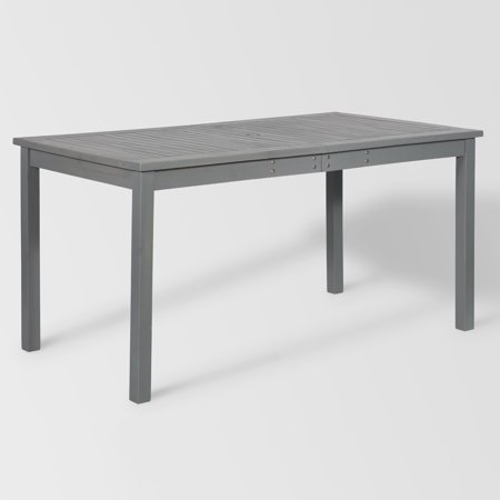 Manor Park Outdoor Acacia Wood Dining Table - Grey Wash ()
