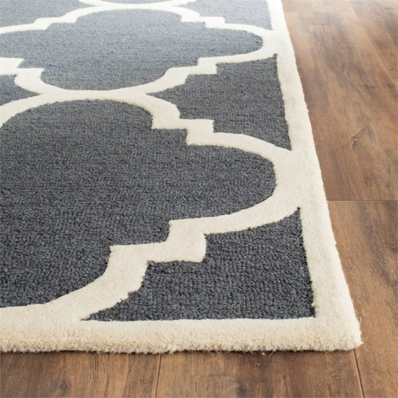 Safavieh Cambridge 9' X 12' Hand Tufted Wool Rug - image 1 of 10