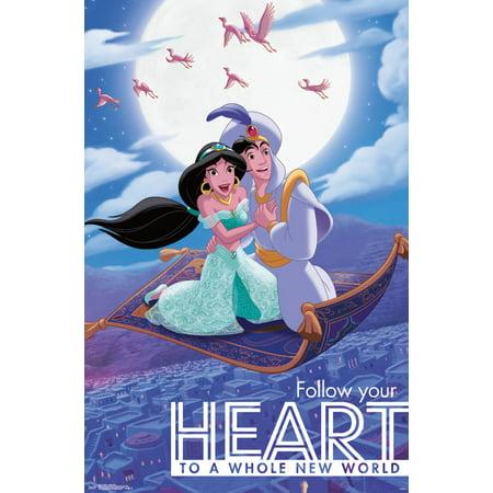 Aladdin Carpet Ride Wall Poster 22.375
