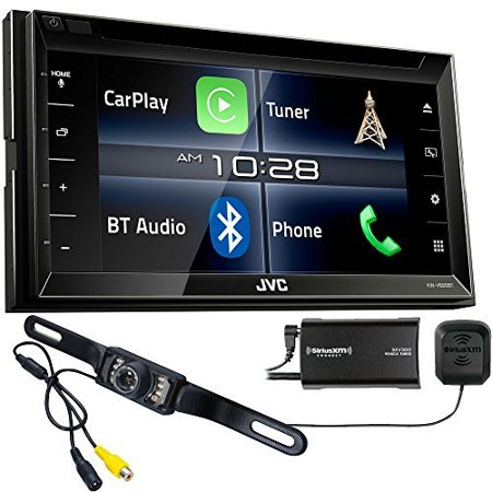 JVC KW-V820BT Apple CarPlay Receiver with Sirius XM Tuner & Back Up - Factory Xm Tuner