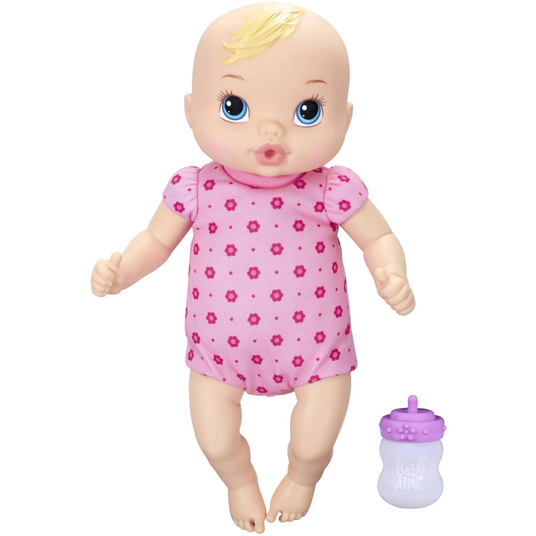 Baby Alive Luv n Snuggle Baby Black Hair Walmart