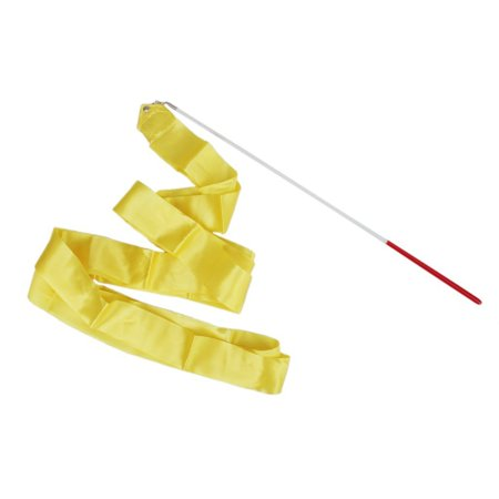 Zeekio Chinese Dance Ribbon - Yellow - Yellow Ribbons