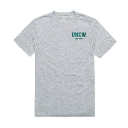 University of North Carolina at Wilmington Seahawks Practice Tee T-Shirt Heather Grey Large