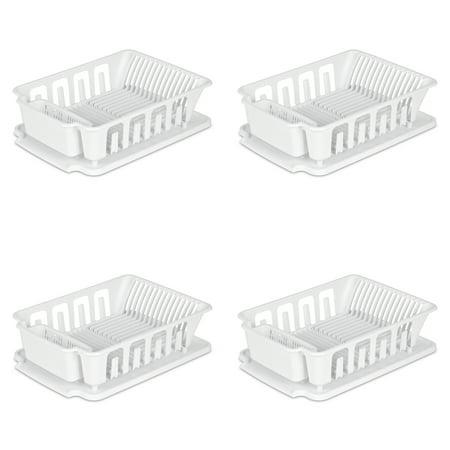 Sink Cartridge Set - Sterilite, Large 2 Piece Sink Set, Case of 4