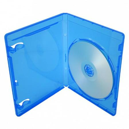 CheckOutStore 100 PREMIUM STANDARD Blu-Ray Single DVD Cases 12MM