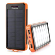 Best Solar Phone Chargers - Solar Charger, Zanfl 15000mAh Portable Solar Power Bank Review