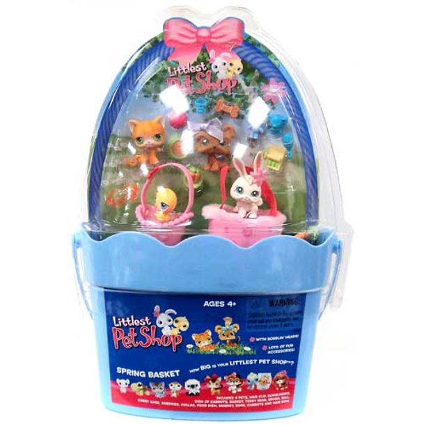 Littlest Pet Shop Spring Basket Figure Set