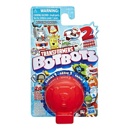 Transformers BotBots Series 3 Collectible Blind Bag Mystery Figure - Surprise 2-In-1 Toy
