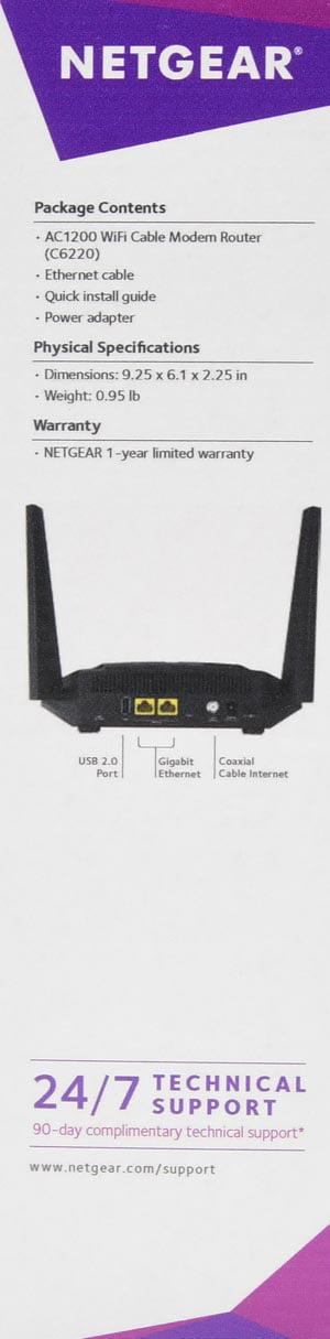 NETGEAR DOCSIS® WiFi AC1200 3 0 Cable Modem Router - Review