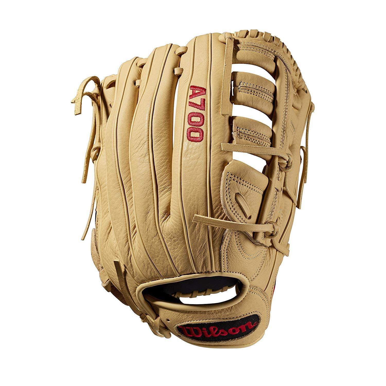 "Wilson 12.5"" A700 Series All Positions Baseball Glove, Left Hand Throw by Wilson"