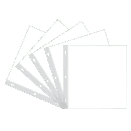 - Pioneer Photo Albums 12x12 Top Loading Scrapbook Refills, White