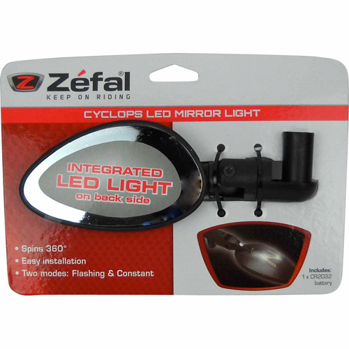 Zefal Cyclops Cycling Mirror with LED – Walmart Inventory Checker ... d556e9f7d395