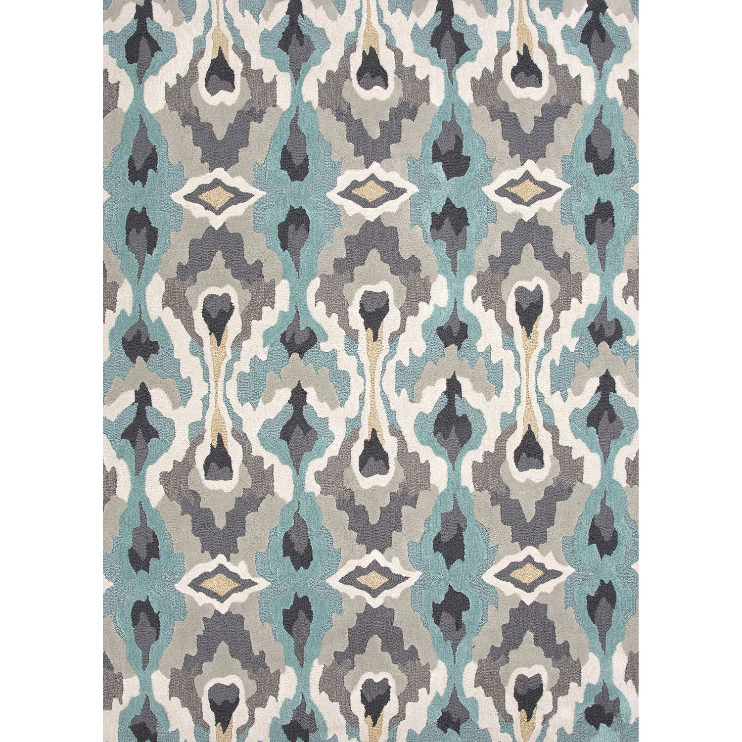 Royal Rugs Brio Soft Gold/Blue Tribal Area Rug