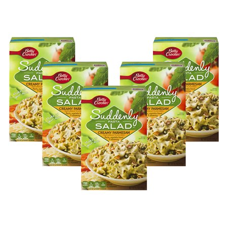 (5 Pack) Suddenly Salad Creamy Parmesan Pasta Salad Dry Meals 6.2