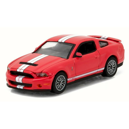 Race Module - 2011 Ford Shelby GT-500, Race Red - Greenlight 13180/48 - 1/64 Scale Diecast Model Toy Car