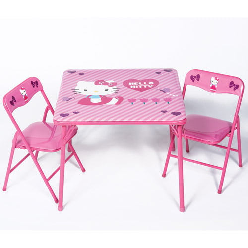 Hello Kitty Activity Table and Chairs Set by Hello Kitty