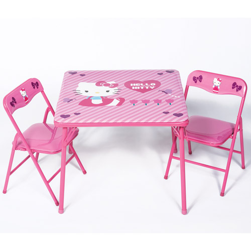 Hello Kitty Activity Table and Chairs Set