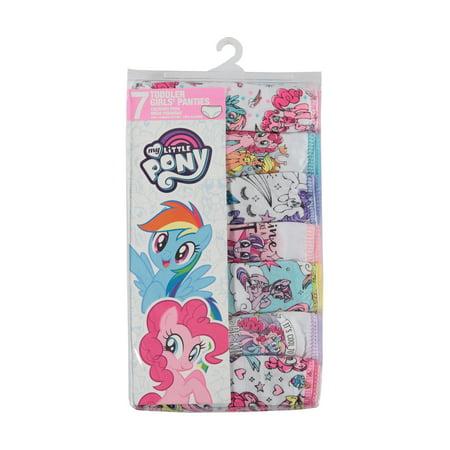 My Little Pony Toddler Girls Underwear Panties, 7-Pack