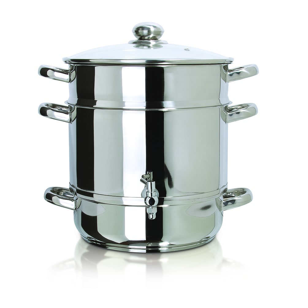 Euro Cuisine, Inc Euro Cuisine Stainless Steel Stove Top Steam Juicer