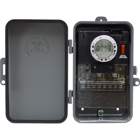 GE 7-Day Digital Time Switch