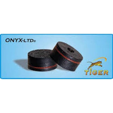 Onyx Laminated Cue Tips - (Each), Tiger Onyx Tip - Single By