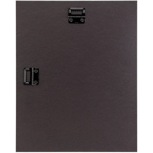Craig Frames 10x12 Black Picture Frame, Single White Collage Mat ...