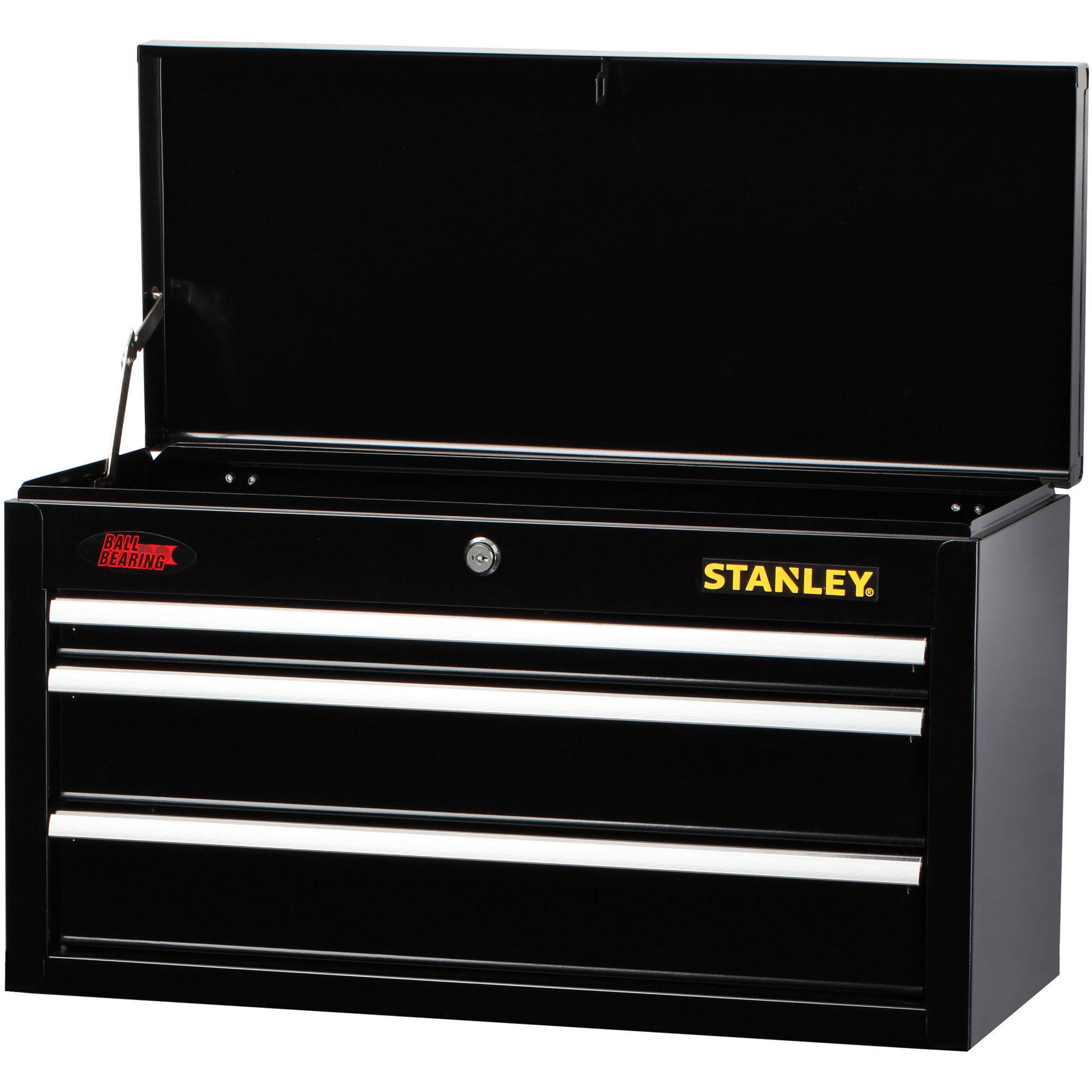 Stanley 5 Drawer Chest And Cabinet Combo With Bi Fold Doors, Black    Walmart.com