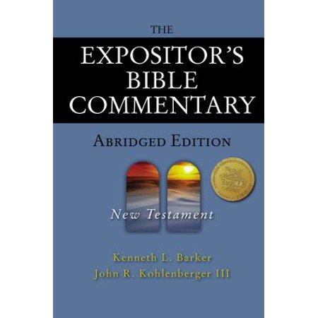 Expositor's Bible Commentary: The Expositor's Bible Commentary - Abridged Edition: New Testament - Halloween 4 Commentary