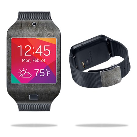 Neo Skin Jumpsuit (Skin Decal Wrap for Samsung Galaxy Gear 2 Neo Smart Watch cover skins sticker watch Scratched Up )