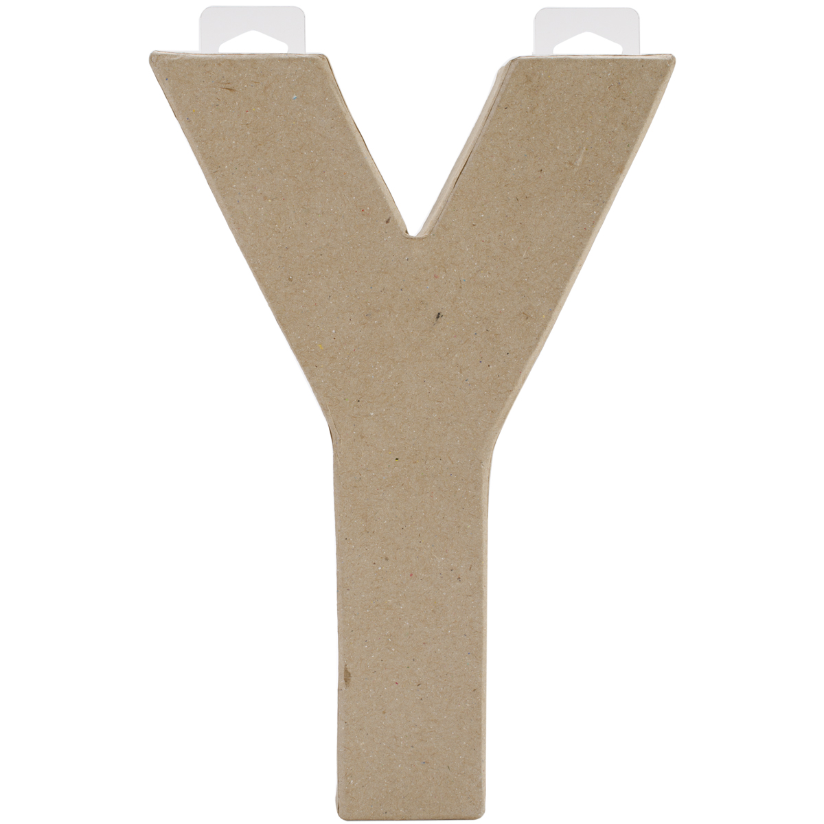 "Paper-Mache Letter 8""X5.5""-Y - image 1 of 1"