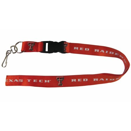 Texas Tech Red Raiders Ncaa Lanyard W Key Ring Pro Specialties Group 288612