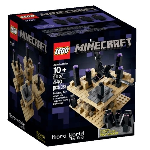 Lego Minecraft Micro World - The End 21107 (Discontinued ...