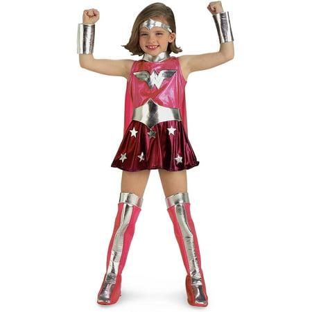 Pink Ladies Costume Women (Pink Wonder Woman Child)