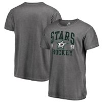 Dallas Stars Fanatics Branded Vintage Collection Old Favorite Shadow Washed T-Shirt - Black