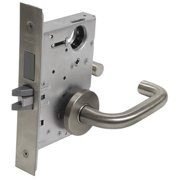 CORBIN Heavy Duty Mortise Lockset, Lever, Privacy ML2030 LWA 630