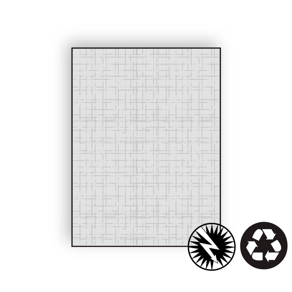 "Letterhead, 8-1/2"" x 11"", 24#, Recycled,, Acid Free, Linen Imaging Finish (Box of 500)"