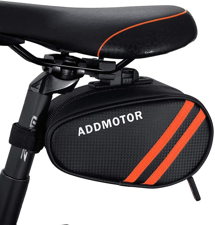 Cycling Bike Seat Saddle Bag Waterproof Roomy Strap-on Bicycle Seat Bag Pack