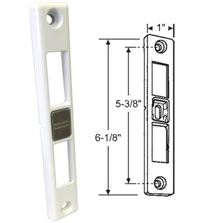 Patio Door Keeper for Dual-Point Mortise Lock, Works on Milgard Patio