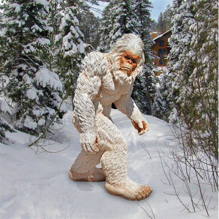 Design Toscano Abominable Snowman Yeti: Medium (Abominable Snowman Decoration)